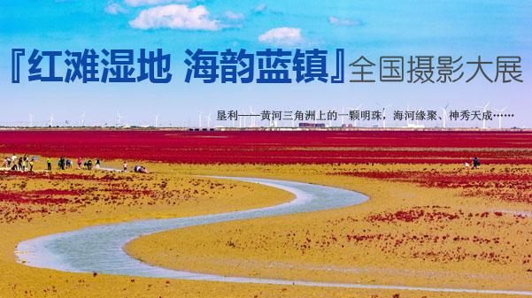 """2018.4.30 """"红滩湿地 海韵蓝镇""""全国摄影大展征稿启事"""