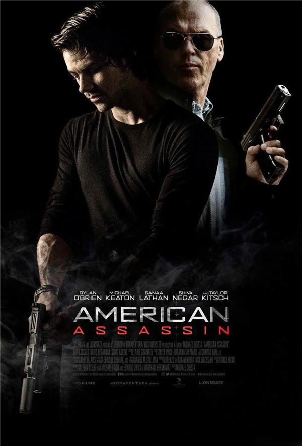 動作電影《美國刺客》平面海報設計作品