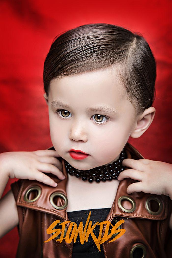 中俄混血美女 儿童摄影
