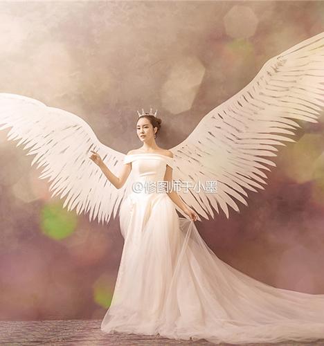 天使的翅膀 婚纱照