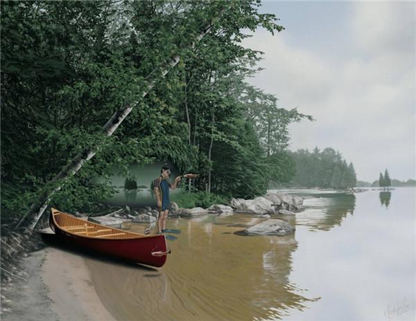 加拿大Sarah Johnson的当代艺术摄影 让梦想起航