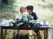 美国摄影师为自己孩子拍摄结婚照 引网友责骂