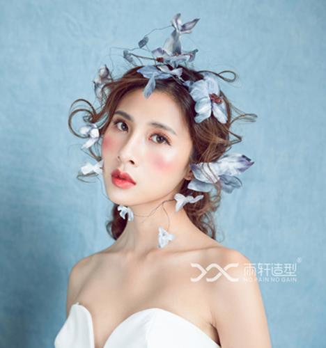简约新娘造型 化妆造型