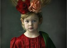 坠入凡间的天使 法国摄影师Jacqueline Roberts儿童摄影作品