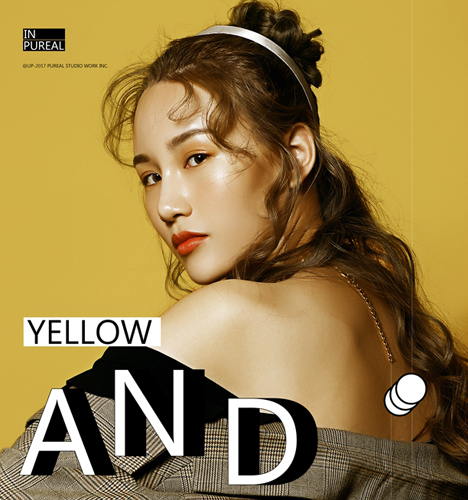 YELLOW AND PLAID 写真摄影