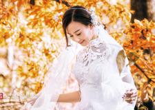 秋意浓 摄影师吴锋唯美大气的婚纱摄影作品