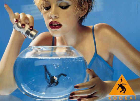 服装品牌KOOKAI 超现实主义广告作品