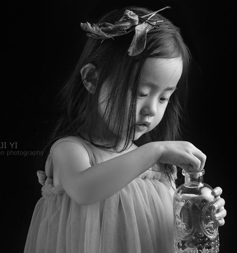 黑白系 儿童摄影