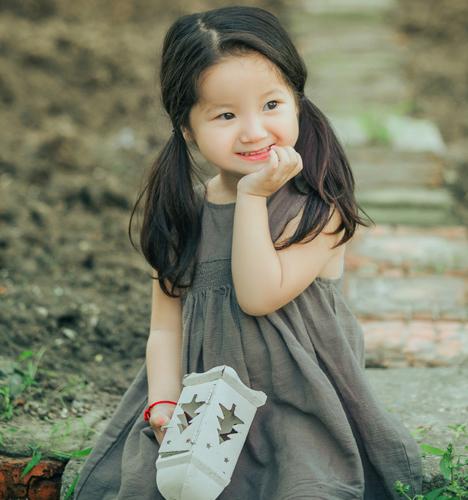 森系小姑娘 儿童摄影