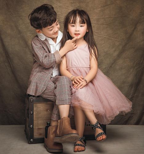 兄妹情 儿童摄影