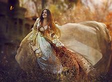 女摄影师Irina Istratova与魔法同行的童话摄影
