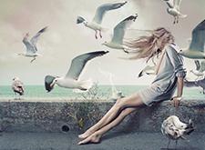数字艺术家Kassandra惊人的超现实主义摄影