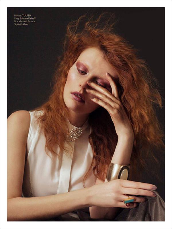 油画般的色彩灵感 Patrick Jendrusch时尚人像摄影作品