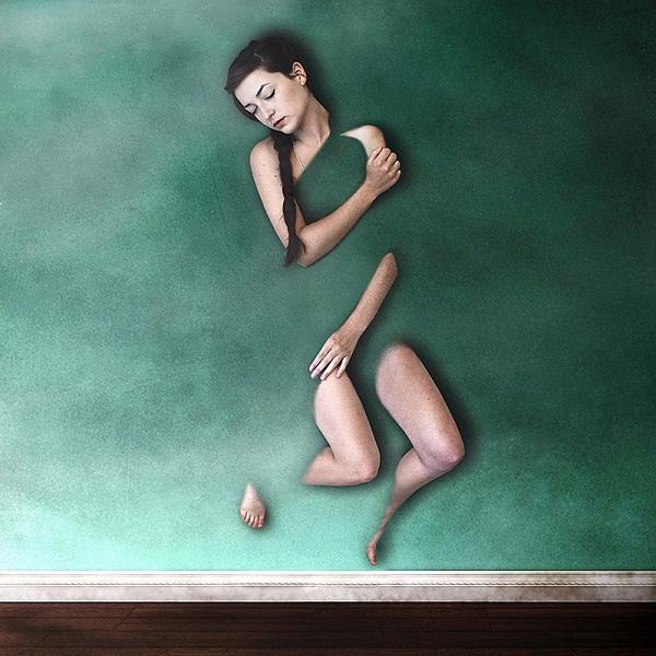 Megan Christine超现实主义摄影作品