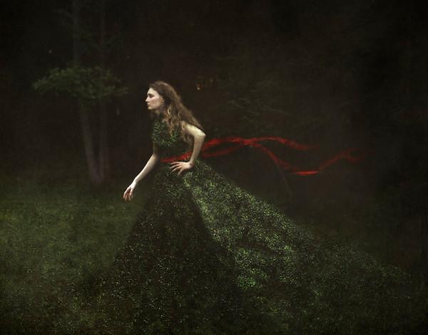 Gilly Face梦幻超现实主义摄影作品