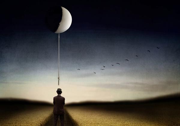 忧郁孤僻的超现实主义摄影作品欣赏