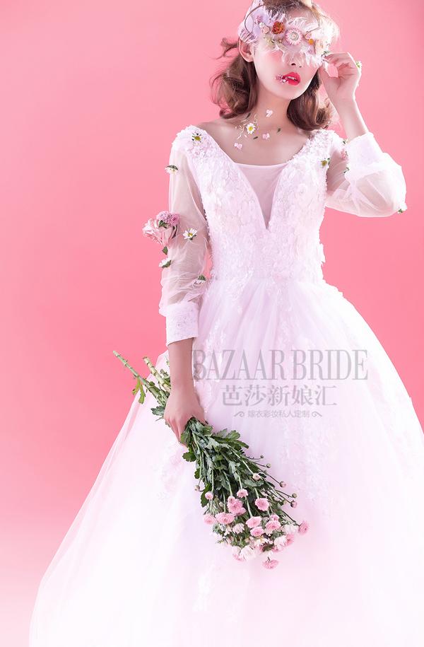 馨香 甜美小清新新娘造型