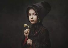 人像摄影教程 油画风格肖像布光实例