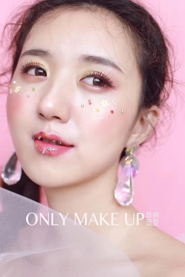 唯美韩式新娘妆面造型