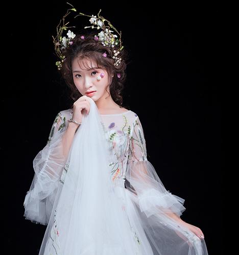 森系新娘造型 化妆造型