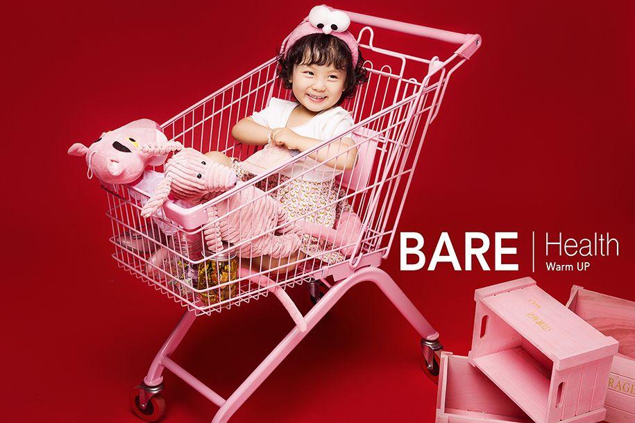 购物车 儿童摄影