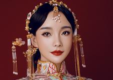 实用优雅的中式新娘造型 增添做造型的灵感