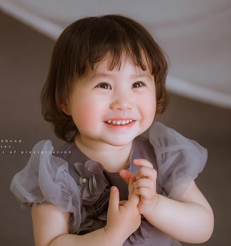 小拖裙 儿童摄影