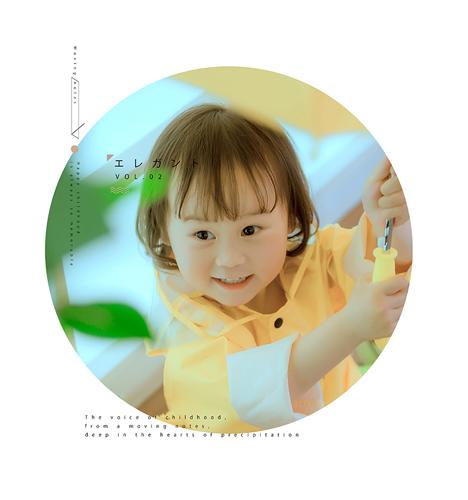 小雨衣 儿童摄影