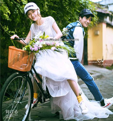 唯美旅拍 婚纱照
