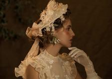 宫廷复古少女风新娘造型 彰显尊贵典雅气质