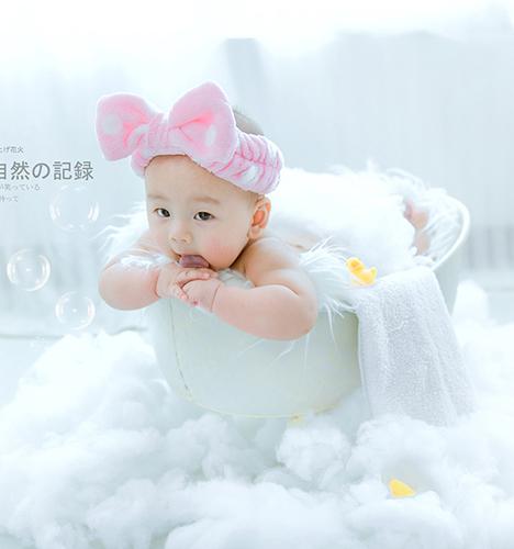 泡泡浴 儿童摄影