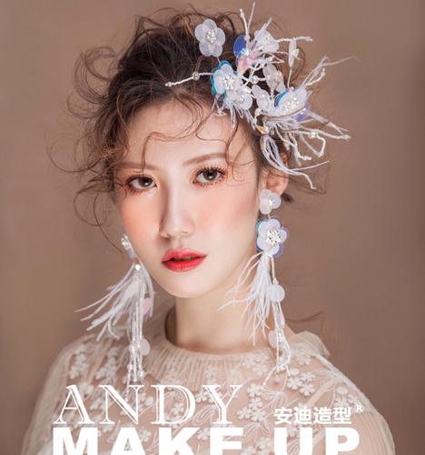 唯美新娘造型 化妆造型