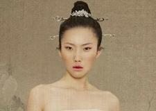 最新影楼资讯新闻-复古新中式新娘造型 营造出多元化的时尚元素