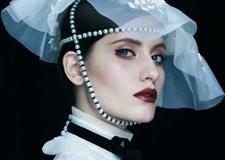 时尚新娘造型 展露出强大的气场