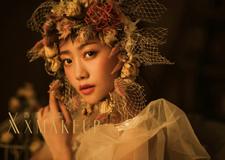 秋之韵 浓郁的暖色调新娘造型
