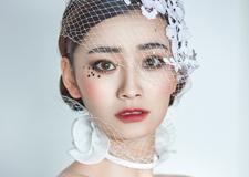 韩式新娘妆面造型 散发着浪漫唯美的气息