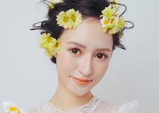 实用鲜花新娘造型 惊艳了整个秋冬
