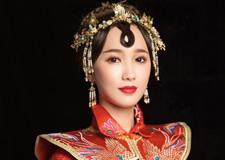 中式新娘造型 展现东方的独有情韵