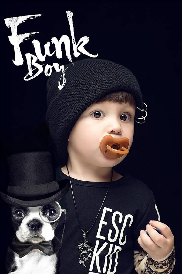 儿童摄影——后期素材添加让画面更有趣