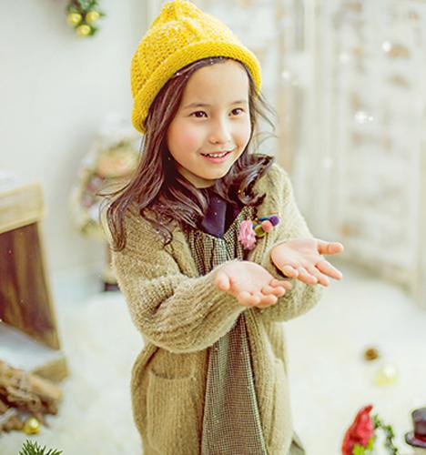 北欧风圣诞 儿童摄影