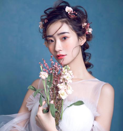 超甜美的新娘造型 化妆造型