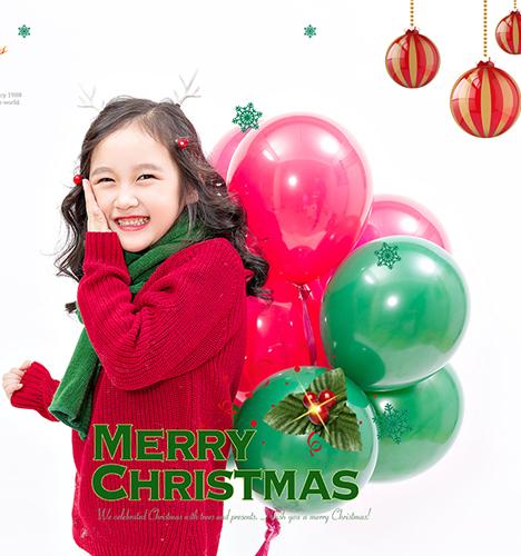 圣诞快乐 儿童摄影