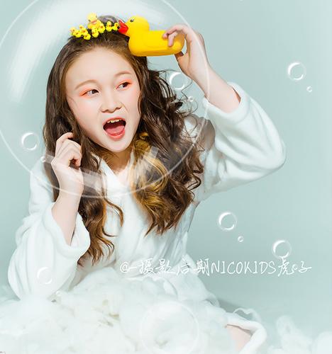 我爱洗澡 儿童摄影