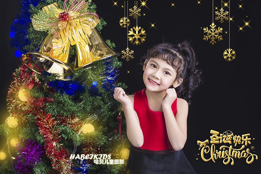 圣诞礼物 儿童摄影