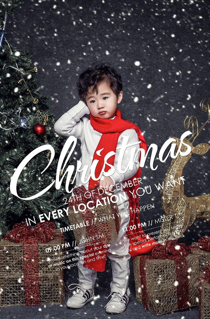 Christmas girl 儿童摄影