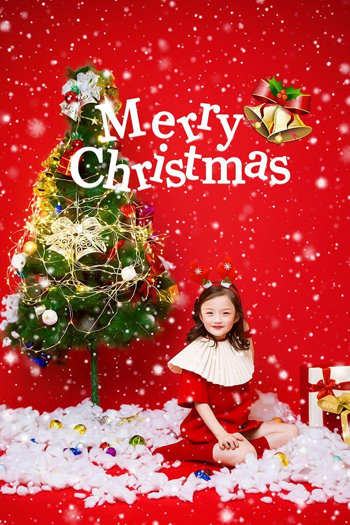 圣诞小鹿 儿童摄影