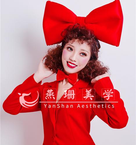 圣诞主题妆容造型2 化妆造型