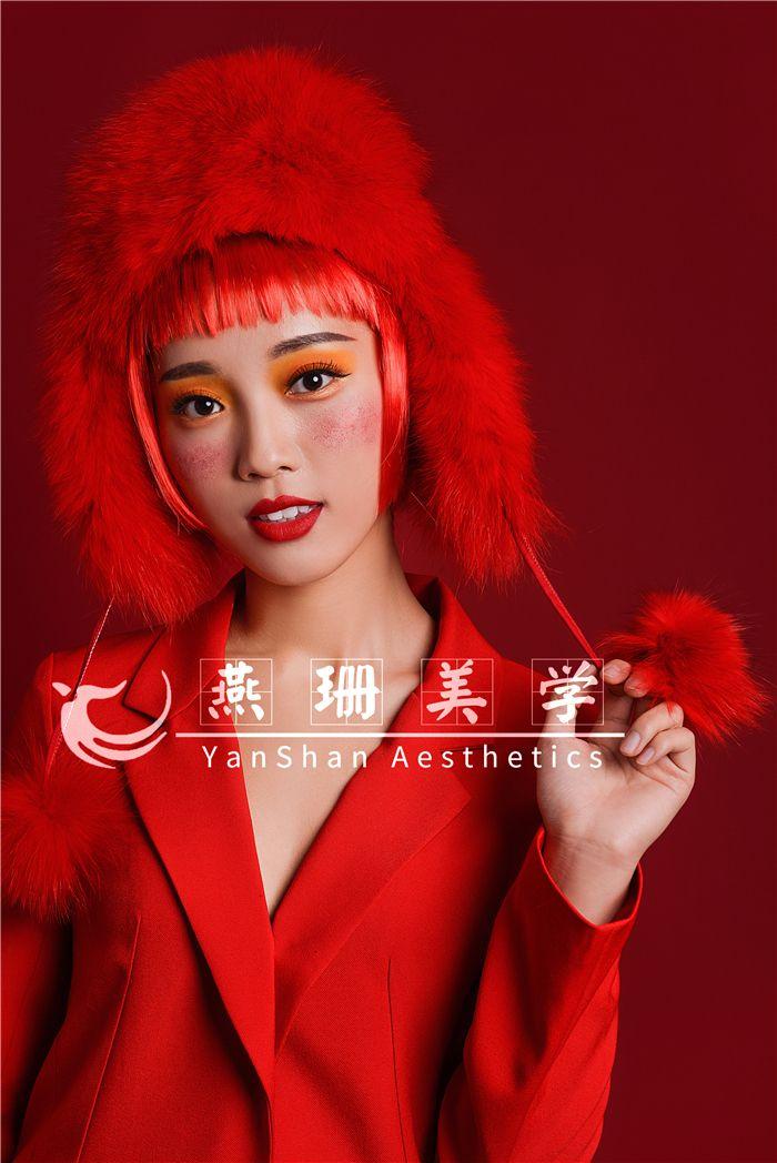 圣诞主题妆容造型3 化妆造型