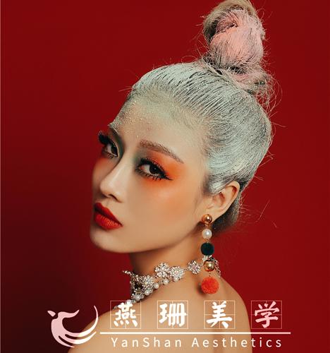 圣诞主题妆容造型4 化妆造型