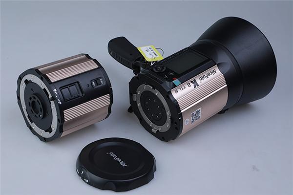 耐思外拍闪光灯K8使用评测 近距离一睹风采